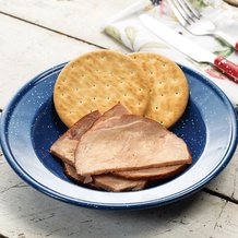 Freeze-Dried Smoked Ham Slices