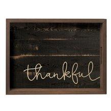 Thankful Farmhouse Tray