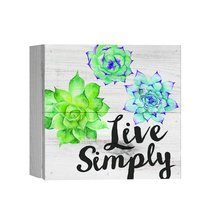Live Simply Boxed Pallet