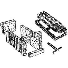 Stanley Wood Cookstove Coal Grate Kit