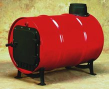 Barrel Wood Heat Stove Kit