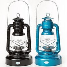 Dietz Jupiter Hurricane Oil Lantern - Blue