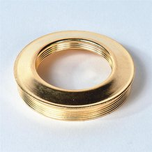 Brass Reducing Collar for Oil Lamps