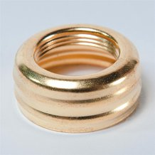 Brass Nutmeg Collar for Oil lamps