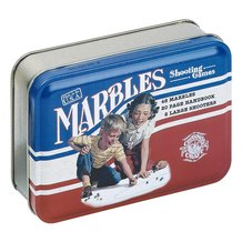 Marbles in Classic Tin