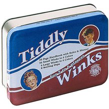 Tiddly Winks in Classic Tin