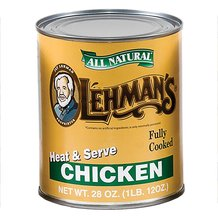 Canned Chicken Meat 28 oz
