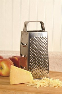 Stainless 4-Sided Grater