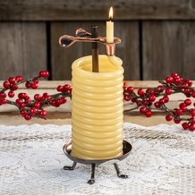 48-Hour Beeswax Candle