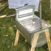Lehman's Own Laundry Hand Washer with Laundry Wringer
