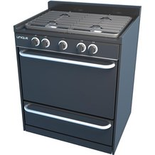 "Unique Gas Ranges - 30"" Black"