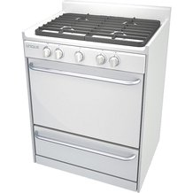 "Unique Gas Ranges - 30"" White"
