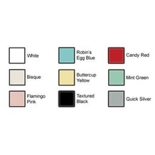 Color Options for Elmira Appliances