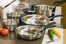 Vollrath Stainless Steel Tribute Sauce Pans