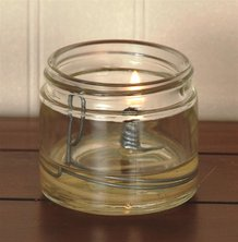 Merry Corliss Camp Olive Oil Lamp