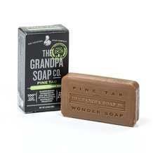 Grandpa's Pine Tar Soap - Case of 25 Bars