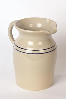 Heritage Blue Stripe Country Pitchers