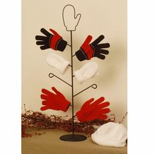 Wrought Iron Mitten Tree