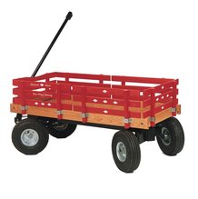 Four Wheel Steered Wagon