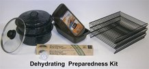 Drying and Preparedness Kit for Sun Oven