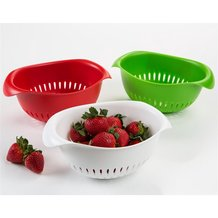 Recycled Small Oval Colander by Preserve