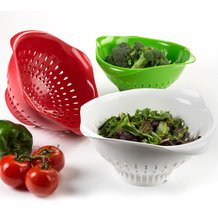 Recycled Large Colander by Preserve