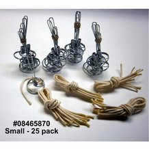 Make Your Own Olive Oil Lamp Parts - Votive size 25-pack