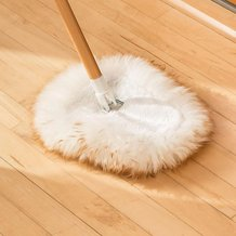 Lamb's Wool Wedge Mop