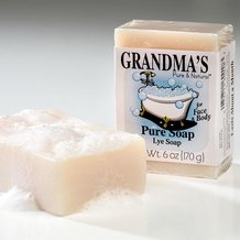 Grandma's Lye Bar Soap