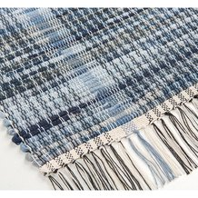 Tough Woven Denim Rug