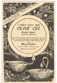 I Didn't Know that Olive Oil Would Burn! Booklet