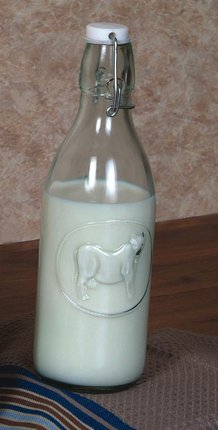 Old-Fashioned Milk Bottles