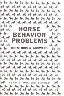 Horse Behavior Problems Book