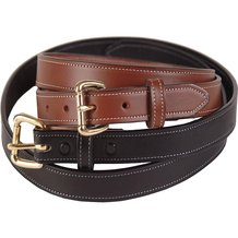 Amish-Made Dressy Leather Belts - 1-1/4 inch wide