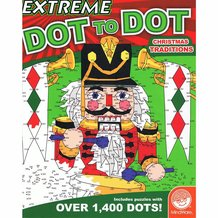 Extreme Dot-to-Dot Christmas Traditions Book