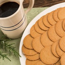 Moravian Ginger Spice Cookies