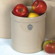 1 Gallon Numbered Stoneware Crock