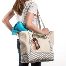 Handmade Canvas Tote