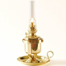 Den Haan Gimbaled Berth Oil Lamp