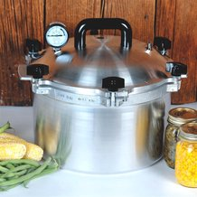 21-1/2 qt High-Quality Pressure Canner