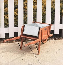 Planter Boxes for Amish-Made Wheelbarrows