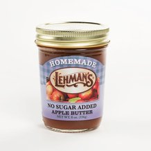 Lehman's No Sugar Added Jams and Fruit Butters