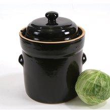 European-Style Fermenting Crocks - 10-Liter
