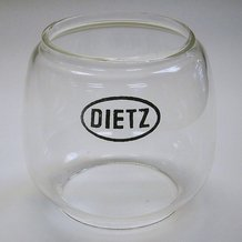 Clear Globes for Dietz Comet Lanterns