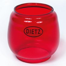 Red Globe for Dietz Monarch and Blizzard Lanterns