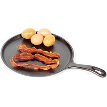 Lodge Logic Cast Iron Old-Style Round Griddle