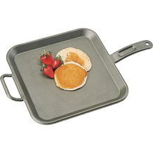 Lodge Logic Cast Iron Square Breakfast Griddle