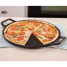 Lodge Logic Cast Iron Pizza Pan