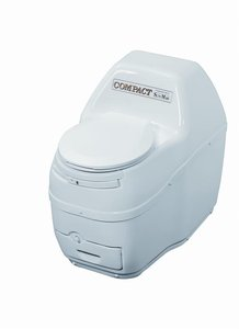 Compact Self-Contained Composting Toilet