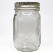 Ball Smooth-Sided Regular Mouth Pint Jars